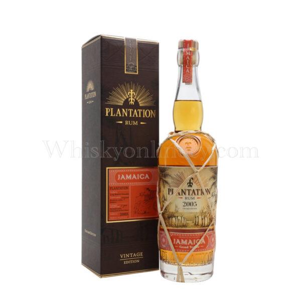 Whisky Online Cyprus - Plantation Jamaica 2005 (70cl, 45.2%)